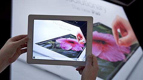 Lieferung des neuen iPads verzögert sich um drei Tage (Bild: EPA)