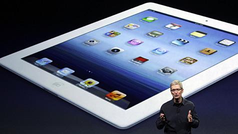 Neues iPad in Österreich ohne LTE-Unterstützung (Bild: AP)