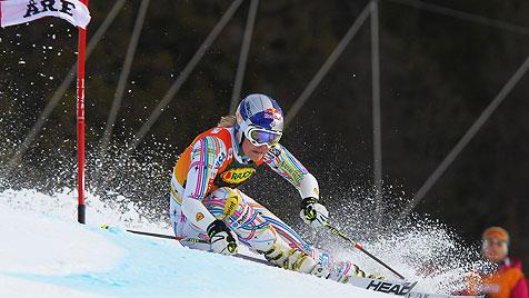 Vonn holt mit Riesentorlauf-Sieg den Gesamtweltcup (Bild: AP)