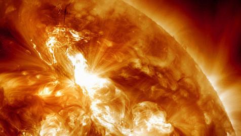 Festplatten sind laut Experte vor Sonnensturm sicher (Bild: AP)