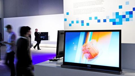 Sony will an TV-Geschäft weiter festhalten (Bild: dapd)