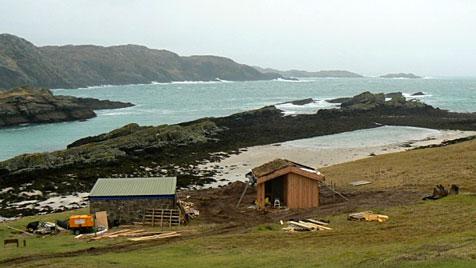 Unbewohnte Insel in Schottland erhält öffentliche Toilette (Bild: Scottish Wildlife Trust)