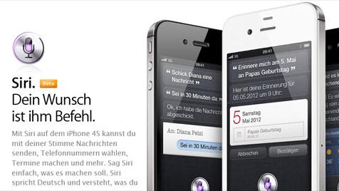 Verärgerter Kunde reicht Klage gegen Apple wegen Siri ein (Bild: Screenshot Apple)