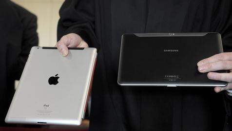 Auftakt für Megaprozess von Apple und Samsung (Bild: dapd)