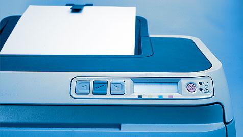 Forscher entfernen Toner mittels Laser von Druckerpapier (Bild: thinkstockphotos.de)