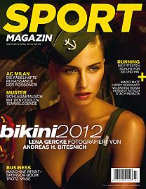 Lena Gercke ging für Bikinikalender auf Tauchstation (Bild: Sportmagazin/Andreas H. Bitesnich)