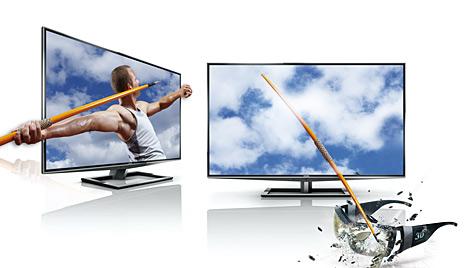 Brillenfreier 3D-Fernseher ab 31. März im Handel (Bild: Toshiba)
