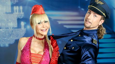 Michael Schönborn mit Maria Jahn beim Jive ausgeschieden (Bild: ORF/Ali Schafler)