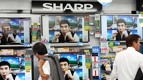 Angeblich bis zu 10.000 Stellen bei Sharp vor dem Aus (Bild: AP)