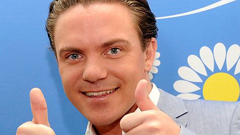 Volkmusik-Star Stefan Mross ist wieder verliebt (Bild: dapd)