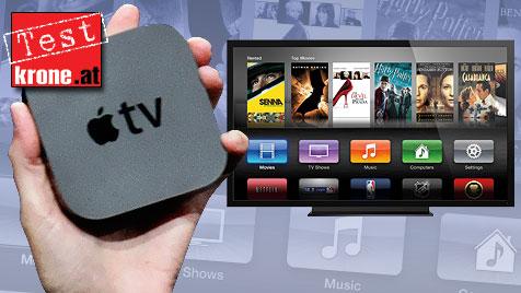 Apple TV im Test: Kleines Kasterl, große Wirkung (Bild: Apple, krone.at-Grafik)