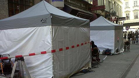 Charlotte Casiraghi drehte Gucci-Spot mitten in Wien (Bild: Karin Schnegdar)