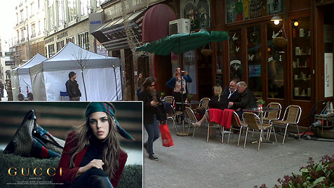 Charlotte Casiraghi drehte Gucci-Spot mitten in Wien (Bild: Karin Schnegdar, Gucci)