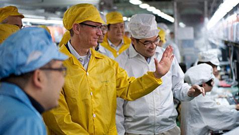 Viele Missstände bei Apple-Fertiger Foxconn (Bild: Apple, AP)