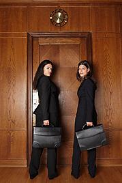 Das doppelte Laurottchen: Rudas trifft ihre Parodistin (Bild: Christian Modler)