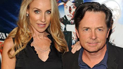 Michael J. Fox schwärmt von seiner Ehefrau (Bild: AP)