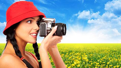 So verschönerst du online deine Frühlingsfotos (Bild: thinkstockphotos.de)