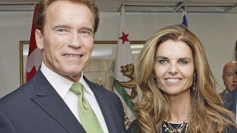 Arnie und Maria: Kurz vor Einigung in Vermögensfragen (Bild: dapd)