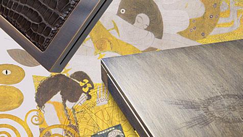 Chromblitzende Edel-Laptops mit Leder aus Paris (Bild: Cottin)