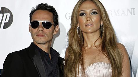 Marc Anthony reicht Scheidung von Jennifer Lopez ein (Bild: AP)