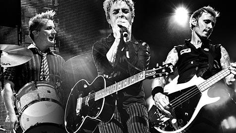 Green Day bringen ab Herbst drei CDs auf den Markt (Bild: Warner Music)