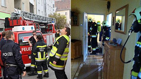 Zwei Einsätze im selben Haus für Kremser Feuerwehr (Bild: Freiwillige Feuerwehr Krems)
