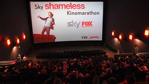 """""""Shameless""""-Fans verbringen zwölf Stunden im Kino (Bild: © www.katharinaschiffl.com)"""