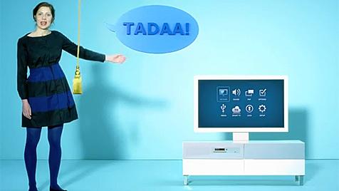 Ikea-TV kommt mit Apps, Spielen und Webbrowser (Bild: Screenshot YouTube)