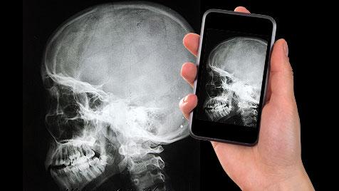 """Forscher arbeiten am """"Röntgenblick"""" fürs Smartphone (Bild: thinkstockphotos.de, krone.at-Grafik)"""
