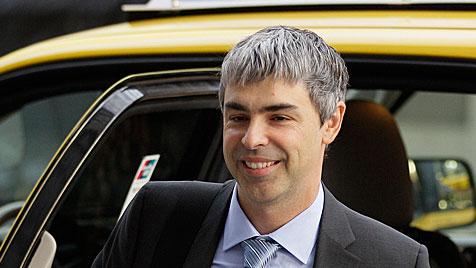 Google-Chef weist Vorwürfe im Patentstreit zurück (Bild: dapd)
