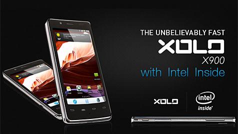 "Intel bringt erstes Smartphone mit ""Intel Inside"" (Bild: Screenshot xolo.in)"