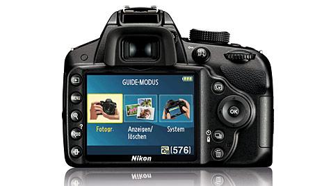 Neue Einsteiger-DSLR von Nikon mit 24,2 Megapixeln (Bild: Nikon)
