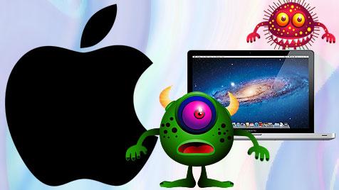 Zehn einfache Tipps für mehr Sicherheit am Mac (Bild: thinkstockphotos.de, Apple, krone.at-Grafik)