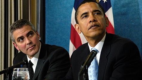 Clooney will sechs Millionen Dollar für Obama sammeln (Bild: dapd)