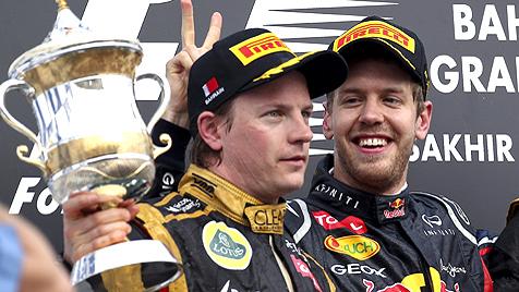 Vettel übernimmt mit Sieg in Bahrain die WM-Führung (Bild: EPA)