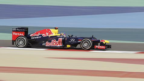 Vettel übernimmt mit Sieg in Bahrain die WM-Führung (Bild: AP)
