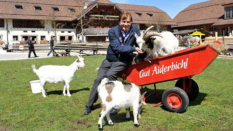 """""""Ober-Aiderbichler"""" Michael Aufhauser ist 60 (Bild: dapd)"""