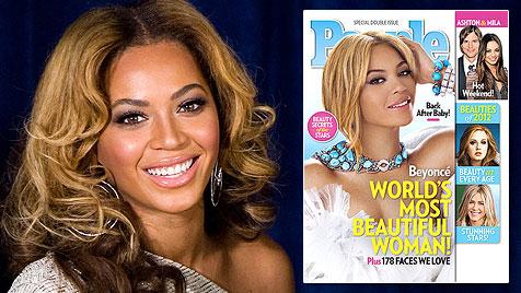 """People"" macht Beyonce zur ""Most Beautiful Woman"" (Bild: AP)"