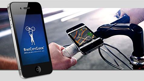 Navi-App soll Radler zuverlässig durch Städte lotsen (Bild: Screenshot bikecityguide.org)