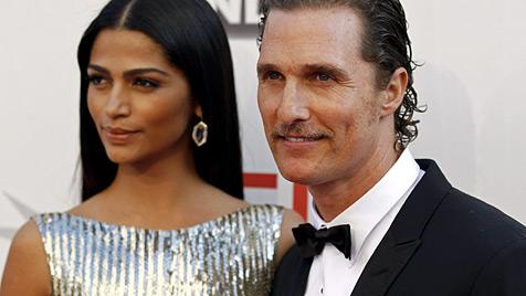 US-Star Matthew McConaughey hat geheiratet (Bild: dapd)