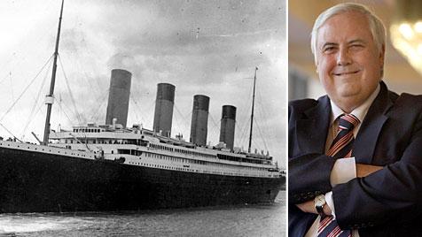 """Milliardär will die """"Titanic"""" in China nachbauen lassen (Bild: AFP/AP)"""