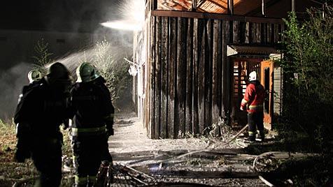Schon sechster Fall: Feuerteufel machen Wels unsicher (Bild: Mathias Lauber/laumat.at)
