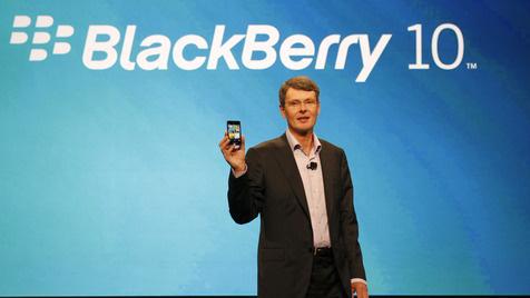Blackberry-Chef sagt schwere Zeit für RIM voraus (Bild: AP)