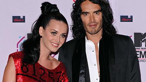 Russell Brand will sich mit Katy Perry aussprechen (Bild: dapd)
