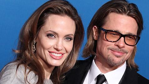 Angelina Jolie will für ihre Hochzeit mit Brad zunehmen (Bild: dapd)