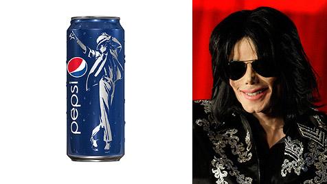 Michael Jackson macht noch einmal Cola-Werbung (Bild: AP)