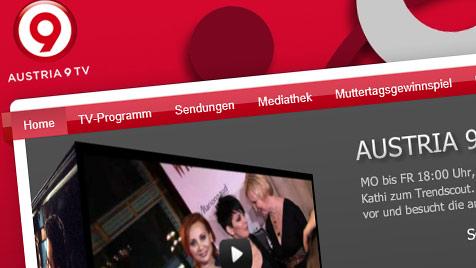 Aus Austria 9 wird neuer Frauensender sixx Austria (Bild: Screenshot austria9.at)