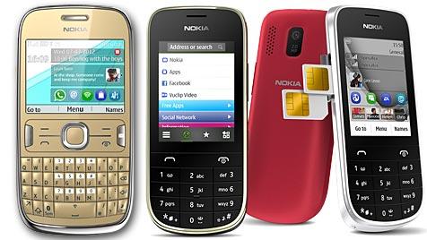"""Nokias """"Asha""""-Serie ab sofort auch in Österreich zu haben (Bild: Nokia)"""