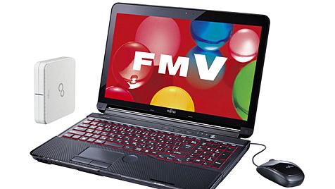 Erstes Notebook mit Luftreiniger von Fujitsu (Bild: Fujitsu)