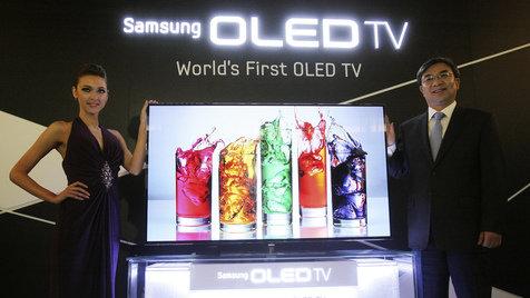 Samsung kündigt OLED-TV für zweite Jahreshälfte an (Bild: AP)